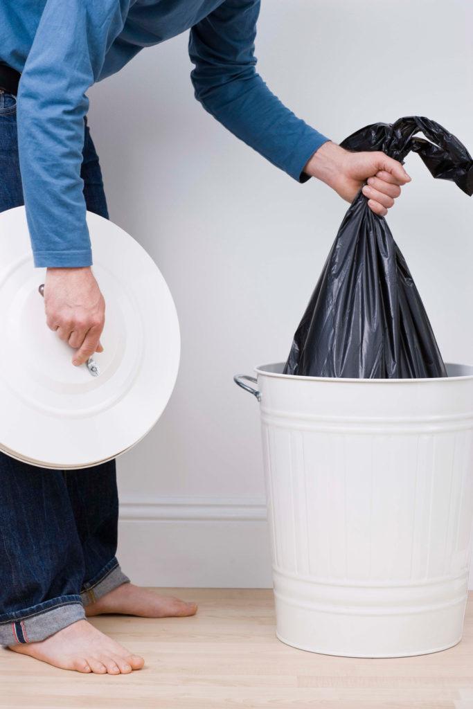 定時清理垃圾桶