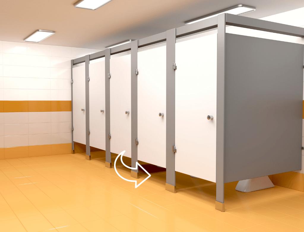 廁所搗擺選擇 門縫會比較大