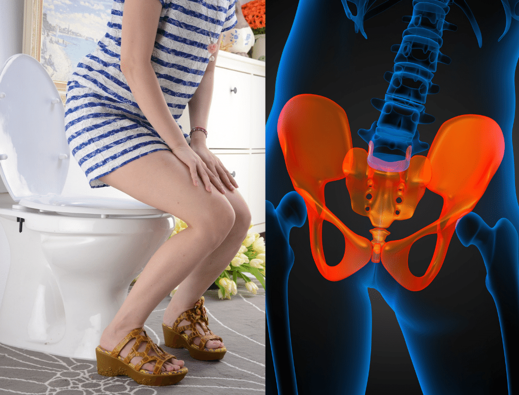 半蹲如廁對身體的傷害很大,錯誤的排尿姿勢會讓骨盆底肌緊張,長期下來骨盆底肌可能從緊張變得鬆弛,增加尿失禁的機率